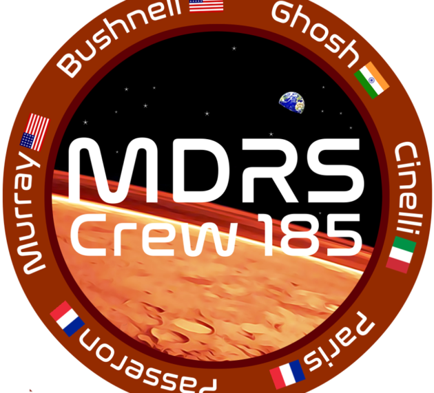 ILARIA CINELLI team leader  CREW 185 at MDRS