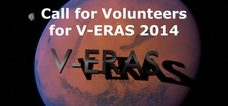 Call for Volunteers for V-ERAS 2014