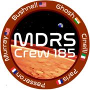 ILARIA CINELLI team leader  CREW 185 at MDRS