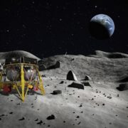 Israel Lander Towards Moon