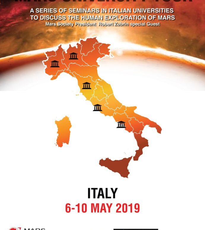 Mars University Tour: 6th-10th May