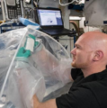 Astronauts Make First Cement in Space to Support Future Martian Habitats
