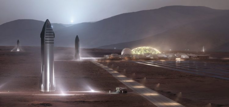 SpaceX 'excited' about building moon bases and Mars cities at the same time