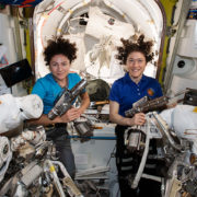 Koch, Meir conclude first all-female spacewalk