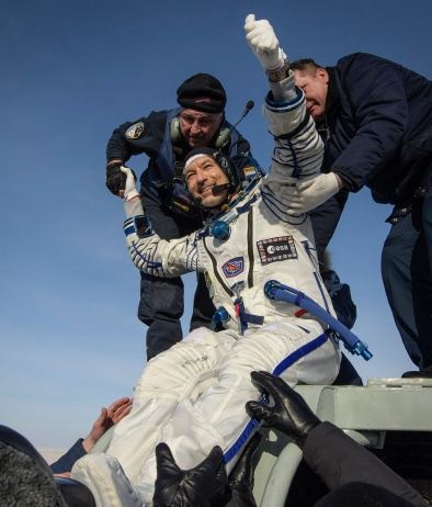 Luca Parmitano: return to Earth