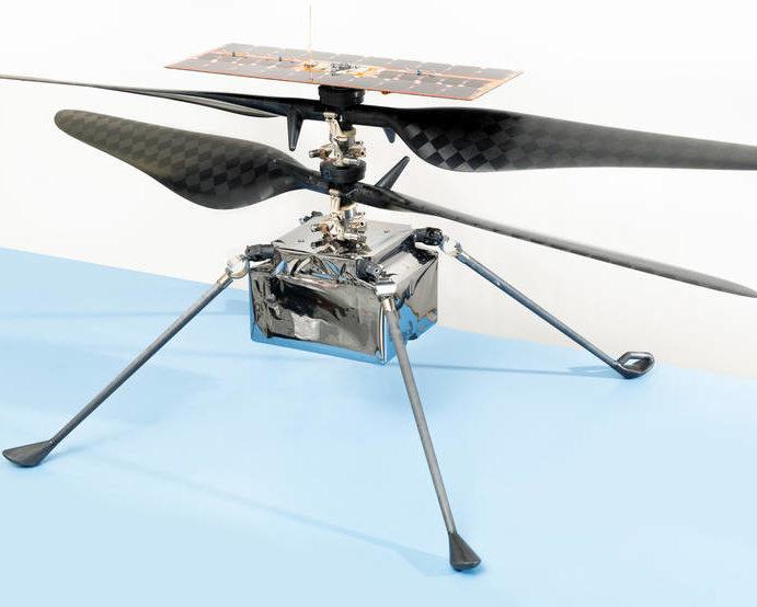 Ingenuity elicottero marziano