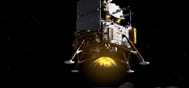 China's Chang'e-5 Moon mission probe touches down