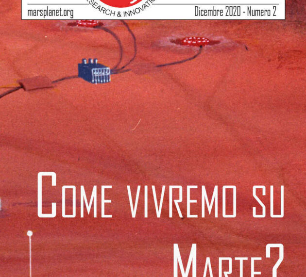 Second number of The Mars Planet Report