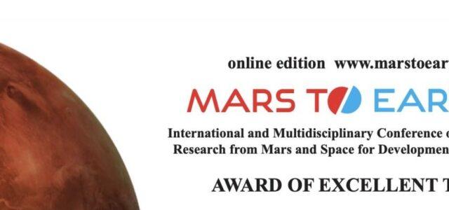 Mars To Earth AWARD