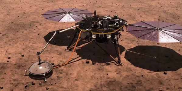 Marsquakes reveal Red Planet has surprisingly large core, thin crust