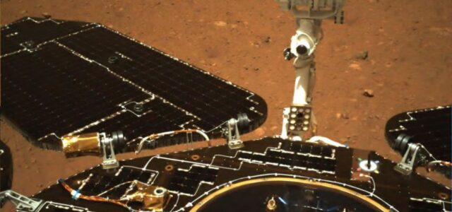Behold! China unveils 1st Mars photos from Zhurong rover