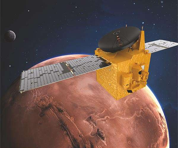 UAE's 'Hope' probe to be first in trio of Mars missions